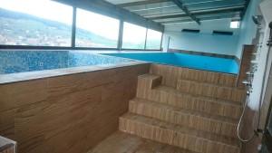 casa rural piscina y jacuzzi